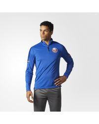 adidas - Islanders Authentic Pro Jacket - Lyst