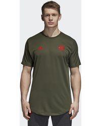 cd572147a adidas 2018-2019 Man Utd Home Football Shirt Men s T Shirt In Red in ...