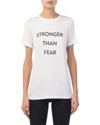 Prabal Gurung - Women's Stronger Than Fear T-shirt - Lyst