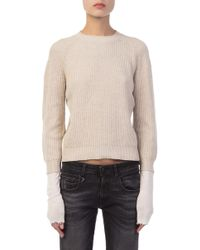 Helmut Lang - Layered Pullover - Lyst
