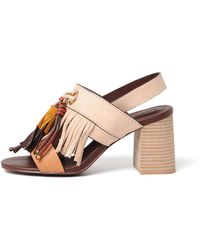 See By Chloé - Light Brown Sandals - Lyst