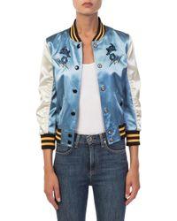 COACH - Arizona Varsity Souvenir Jacket - Lyst