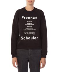 Proenza Schouler - Shrunken Sweatshirt - Lyst
