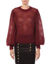 Zimmermann - Unbridled Crop Sweater - Lyst