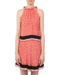 10 Crosby Derek Lam - Sleevless Two-tier Dress - Lyst