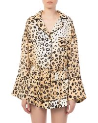 Kendall + Kylie - Pajama Romper - Lyst