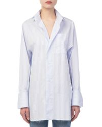Each x Other - Striped Cotton Shirt - Lyst