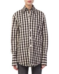 Helmut Lang - Checked Shirt Jacket - Lyst