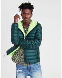 American Eagle - Ae Lightweight Packable Puffer Jacket - Lyst