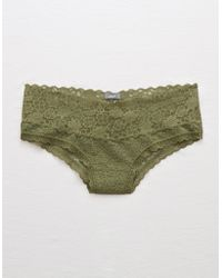 American Eagle - Lace Cheeky - Lyst