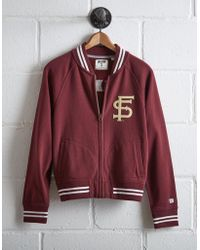 Tailgate - Women's Florida State Bomber Jacket - Lyst