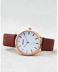American Eagle - Breda Asper Rose Gold & Brown Watch - Lyst