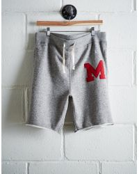 Tailgate - Men's Maryland Cut-off Fleece Short - Lyst