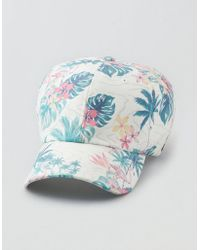 Lyst - American Eagle Ae Tropical Print 5-panel in Black for Men 7ccb879c441c