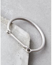American Eagle - Silver Ox Metal Hook Cuff - Lyst