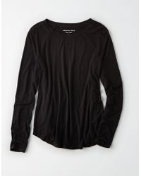 American Eagle - Ae Long Sleeve Raglan T-shirt - Lyst