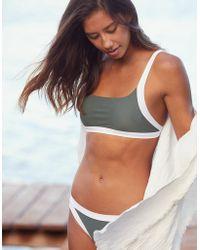 American Eagle - Binding Scoop Bikini Top - Lyst