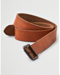 American Eagle - Ae Distressed Riveted Leather Belt - Lyst