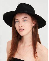 American Eagle - Studded Flat Brim Western Hat - Lyst