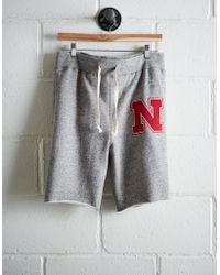 Tailgate - Men's Nebraska Cut-off Fleece Short - Lyst