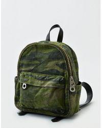 American Eagle - Camo Mini Backpack - Lyst