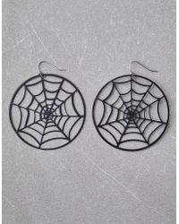American Eagle - Spider Web Earrings - Lyst