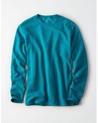 American Eagle - Ae Beyond-soft Crew Neck Thermal - Lyst
