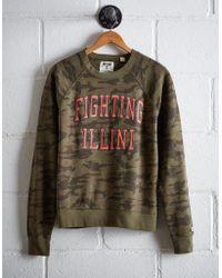 Tailgate - Women's Illinois Camo Fleece Sweatshirt - Lyst