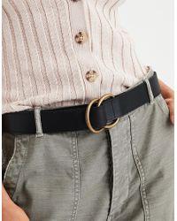 American Eagle - Double Ring Basic Belt - Lyst
