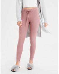 4995c866ebf91 American Eagle - Plush Fleece Sweater Legging - Lyst