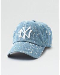 American Eagle - Bleach Splatter Yankees Hat - Lyst
