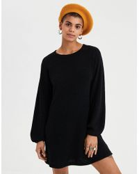 American Eagle - Ae Balloon Sleeve Sweater Dress - Lyst