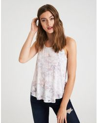 American Eagle - Ae Favorite Tie Dye Scoop Neck Tank Top - Lyst