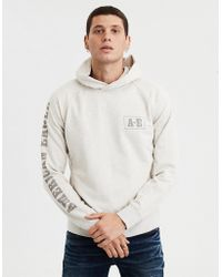 American Eagle - Ae Graphic Fleece Pullover Hoodie - Lyst 561d739dff8