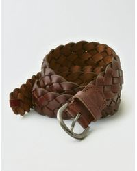 American Eagle - Braided Belt - Lyst