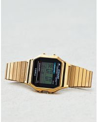 American Eagle - Timex Gold Digital Watch - Lyst