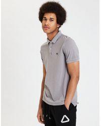 American Eagle - Ae Garment Dye Flex Jersey Polo - Lyst