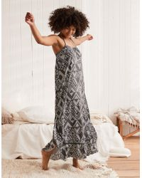American Eagle - Ruffle Maxi Dress - Lyst