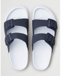 American Eagle - Double Buckle Sandals - Lyst