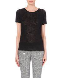 The Kooples Sport - Is Back Jersey T-Shirt - For Women - Lyst