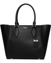 Michael Kors | Gracie Large Pebbled Leather Tote | Lyst