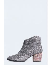 Zadig & Voltaire Molly Glitter Boots - Lyst
