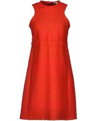 Carven Short Dress - Lyst