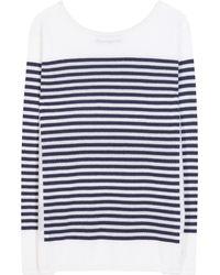 Loro Piana | Barca North Cape Striped Baby Cashmere Sweater | Lyst