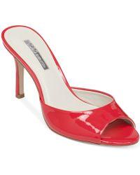 BCBGeneration Disco Slide Dress Sandals - Lyst