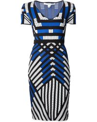 Diane von Furstenberg 'Lorraine' Knit Dress - Lyst