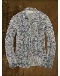 Denim & Supply Ralph Lauren Floral Western Shirt - Lyst