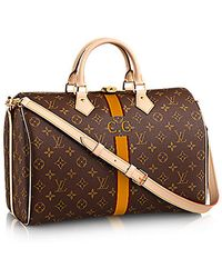 Louis Vuitton Speedy Bandouliere 35 Mon Monogram - Lyst