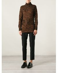 Costume National Turtle Neck Sweater - Lyst