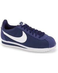 Lyst Nike 'classic Cortez' Sneaker in Blue